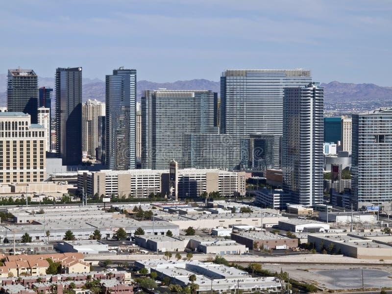 center stad Las Vegas royaltyfri foto