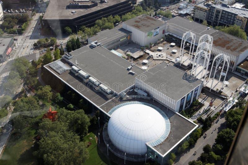 center Stillahavs- vetenskap seattle fotografering för bildbyråer