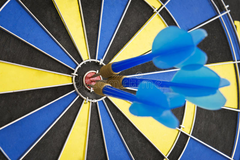 Download In The Center Of The Target Stock Photo - Image: 32024780