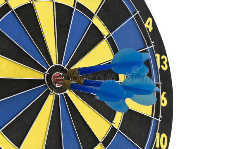 Download In The Center Of The Target Stock Image - Image: 32024709