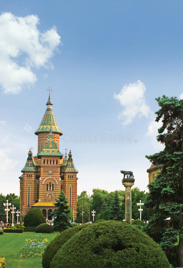 Center of Timisoara stock photo