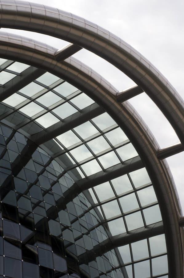 center utförande port spain trinidad för konster arkivfoton