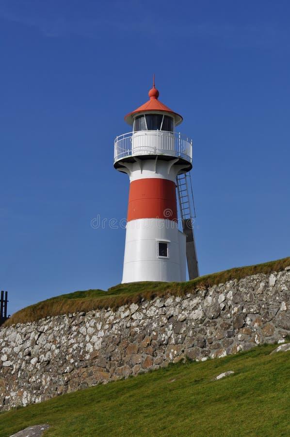 Centered Lighthouse royalty free stock photo