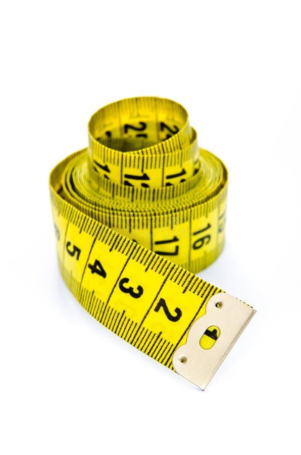 Centimètre jaune photos stock