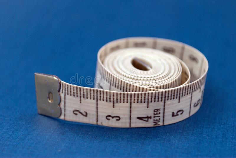 Download Centimeter on blue stock image. Image of measurements - 6121303