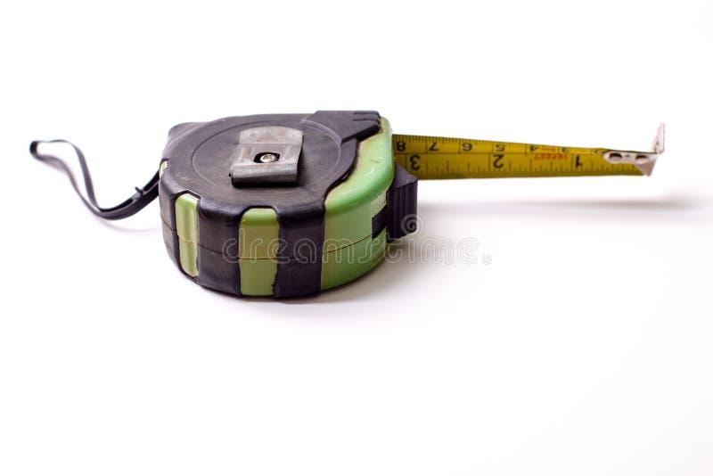 Measuring ruler. A centimeter measuring ruler on white background stock photo
