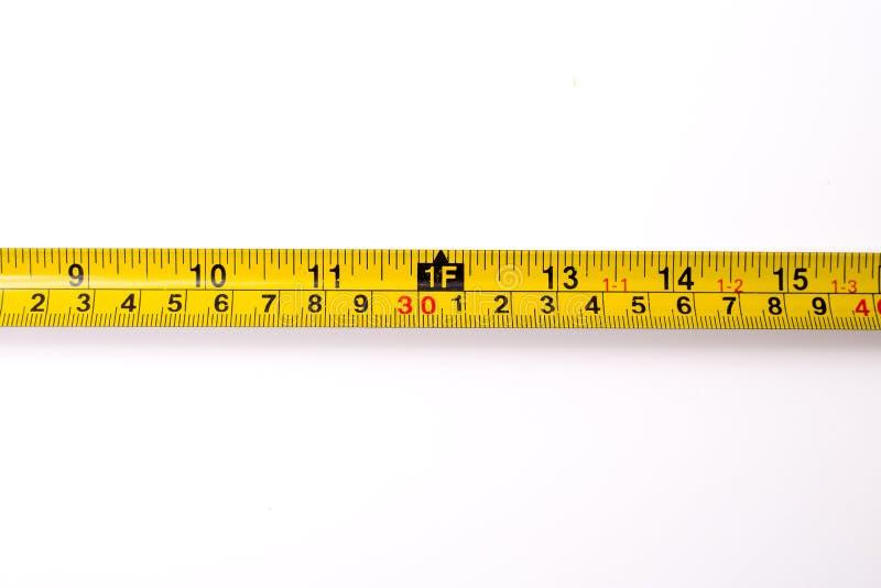 Measuring ruler. A centimeter measuring ruler on white background stock images