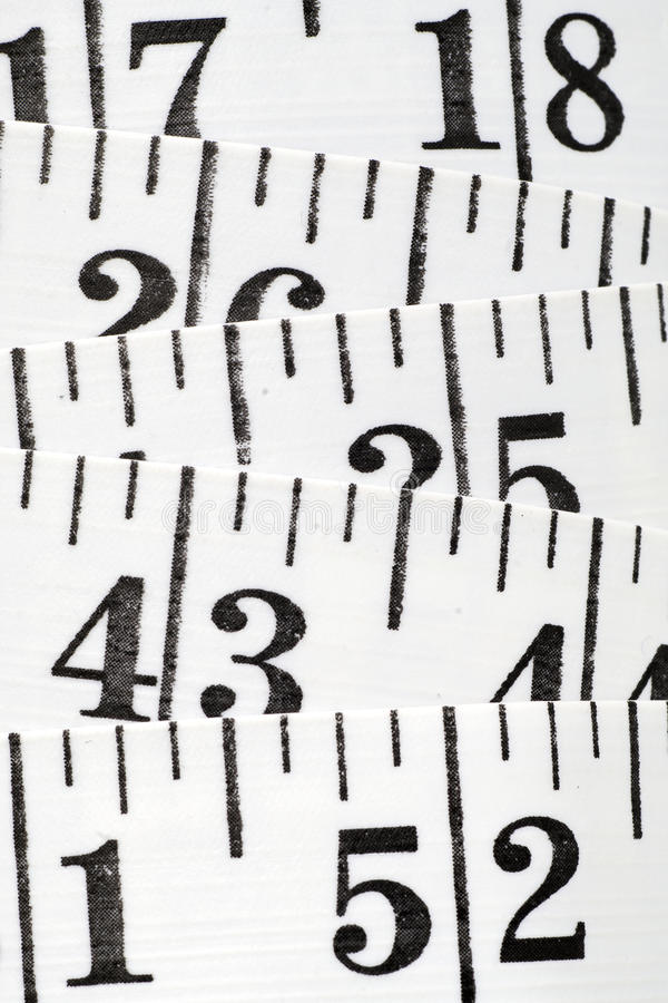 Centimetro piano del sarto immagini stock libere da diritti