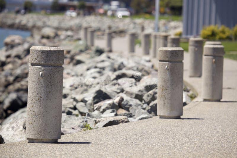 Centinelas concretos imagen de archivo