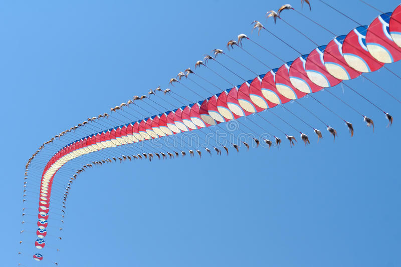 Download Centipede kite editorial stock image. Image of entertainment - 30615889