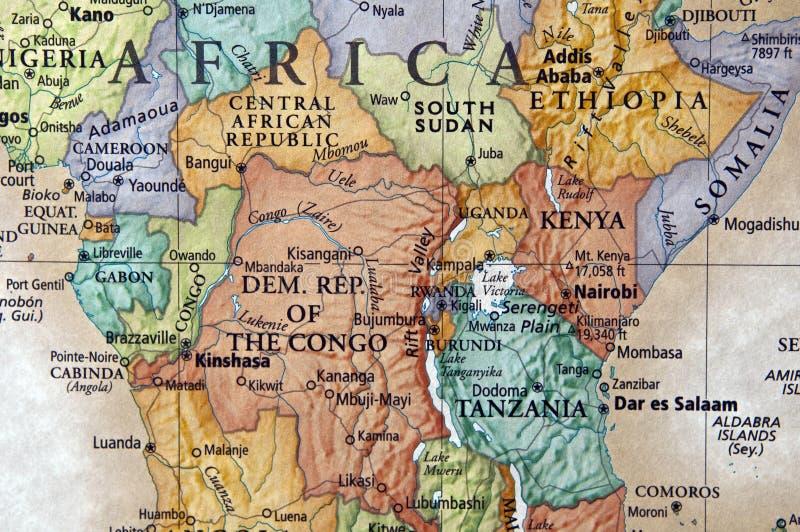 Centraal Afrika stock afbeeldingen