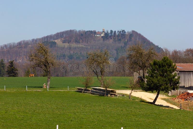 Centraal Duits Hoogland royalty-vrije stock foto's