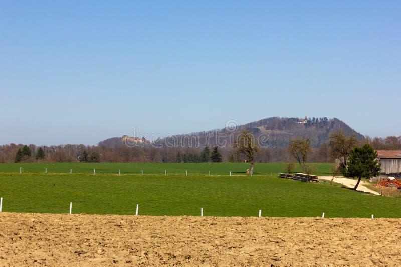 Centraal Duits Hoogland stock fotografie