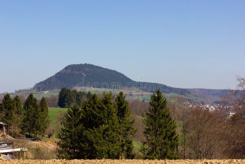 Centraal Duits Hoogland stock foto