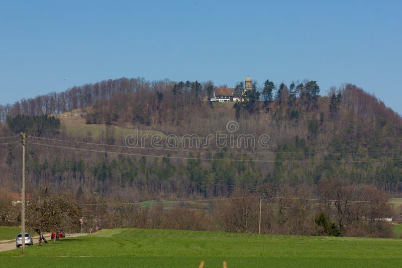 Centraal Duits Hoogland stock foto's