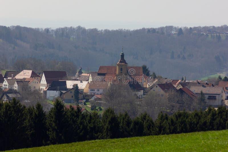 Centraal Duits Hoogland royalty-vrije stock fotografie