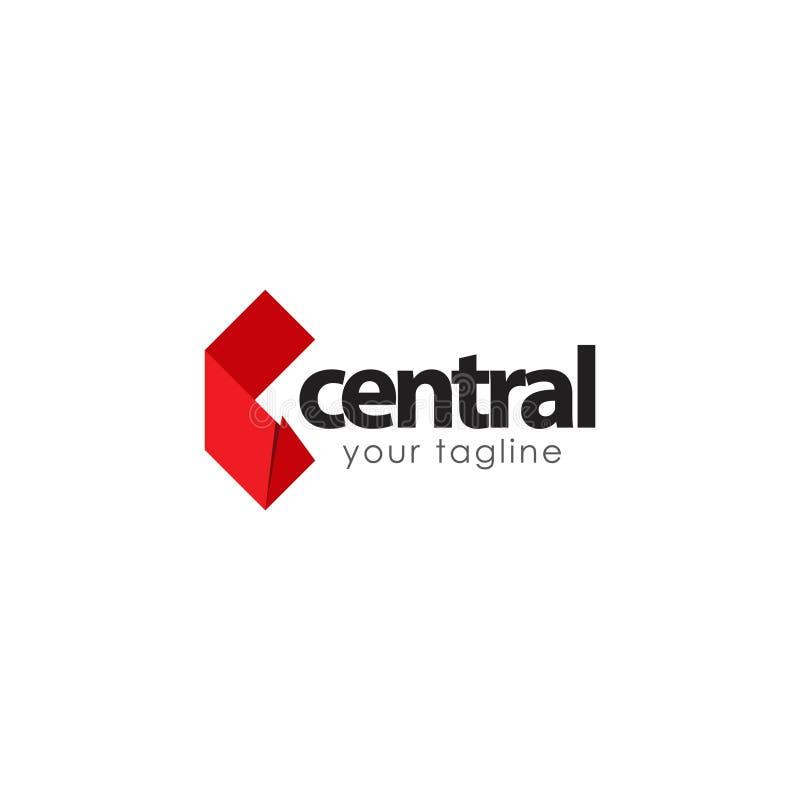 Centraal Logo Vector Template Design Illustration vector illustratie