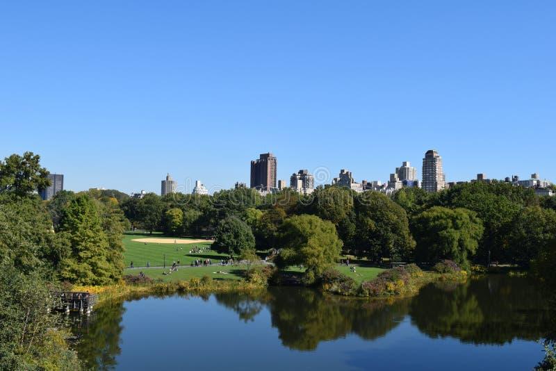 Centraal park royalty-vrije stock afbeeldingen