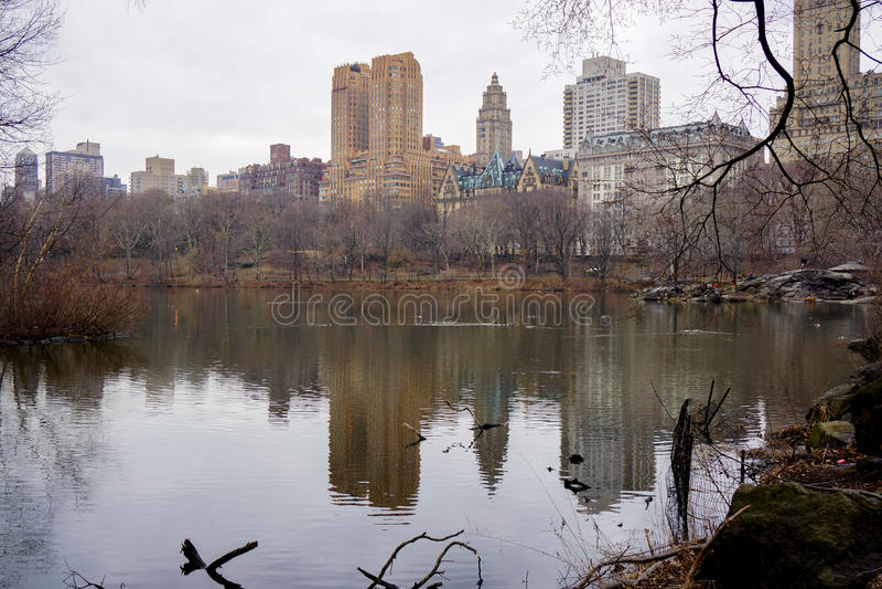 Centraal park nyc royalty-vrije stock fotografie