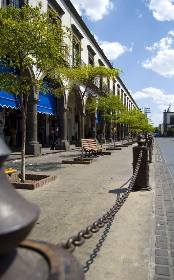 Centraal plein royalty-vrije stock afbeelding