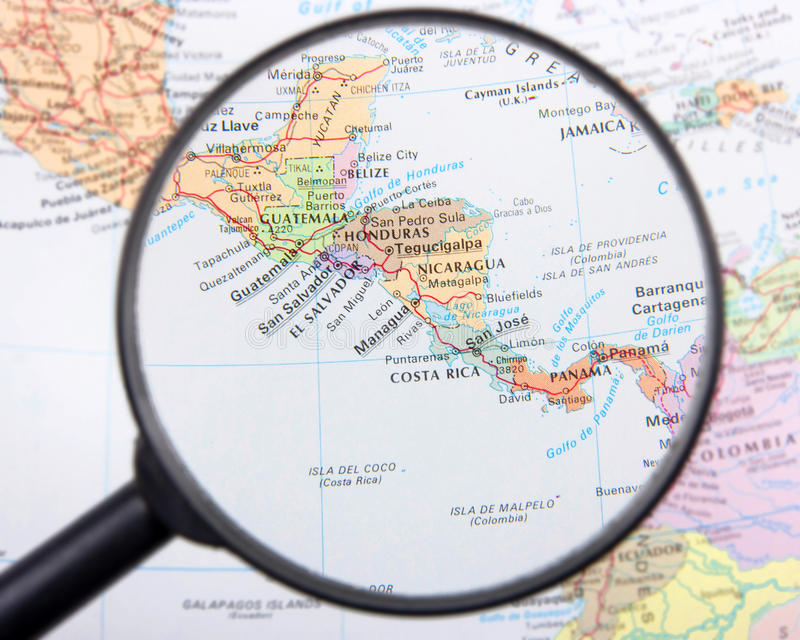 Central America stock images