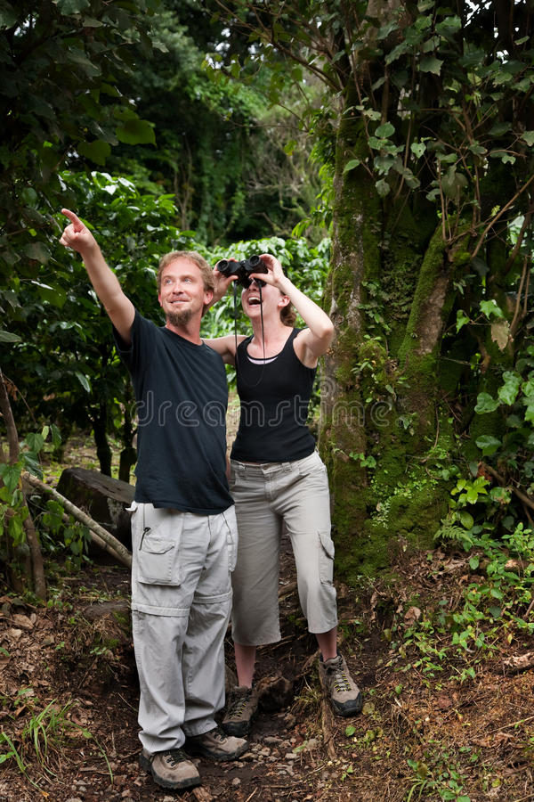 Central American Tourists stock photos
