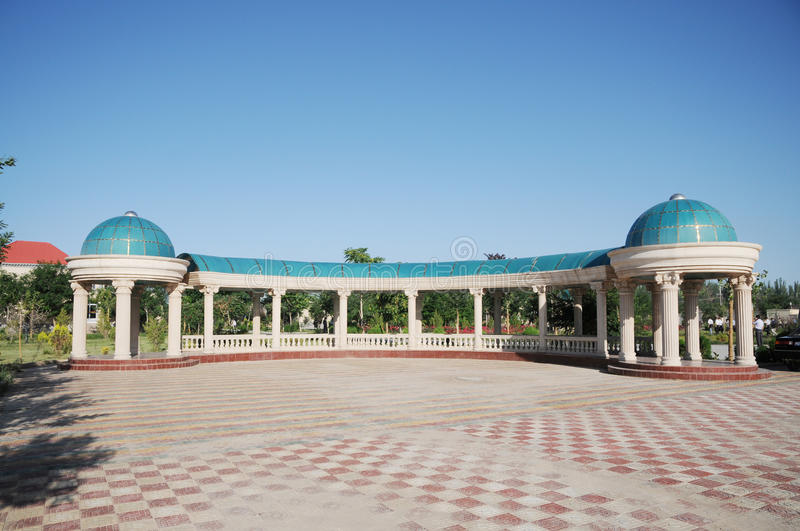 Download Central Asian building stock image. Image of long, central - 15090767