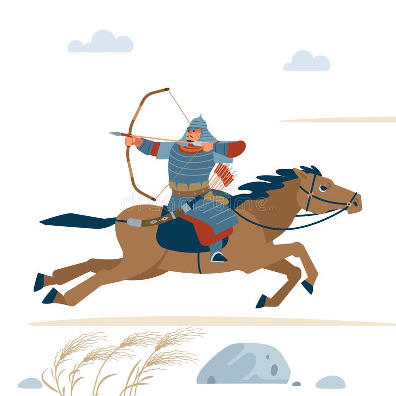 Horse Archer Stock Illustrations – 363 Horse Archer Stock Illustrations, Vectors & Clipart - Dreamstime