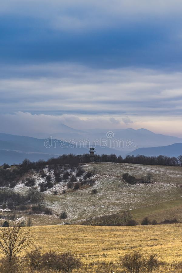 Central Bohemian Highlands stock images