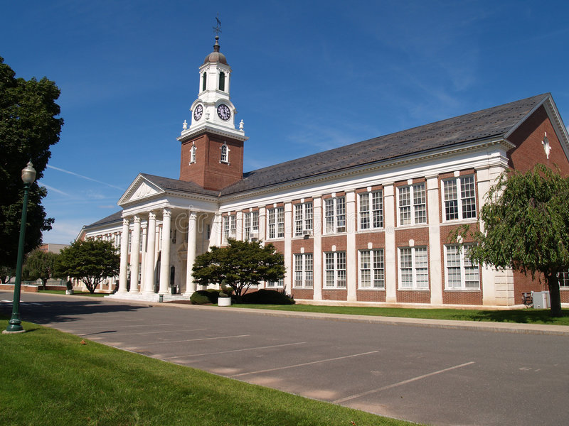 Central Connecticut State University stock image