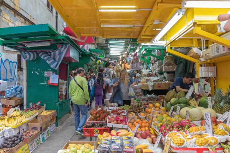 Central del mercado callejero imagen de archivo