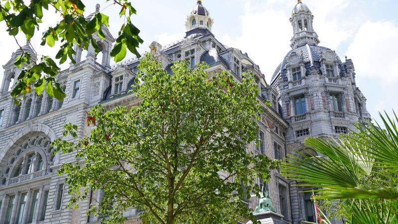 Central drevstation av Antwerp fotografering för bildbyråer