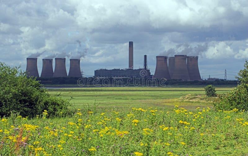 Central eléctrica foto de stock royalty free