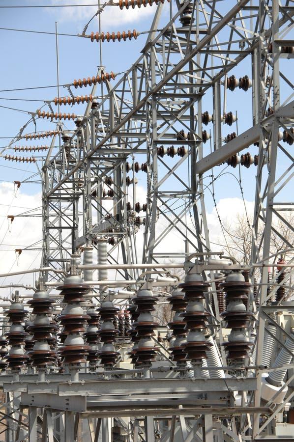 Central eléctrica 2 fotos de stock