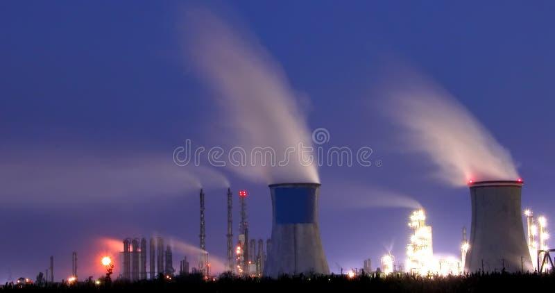 Central eléctrica 2 imagen de archivo libre de regalías