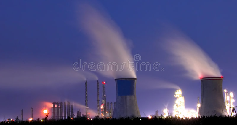 Central eléctrica 2 imagem de stock royalty free