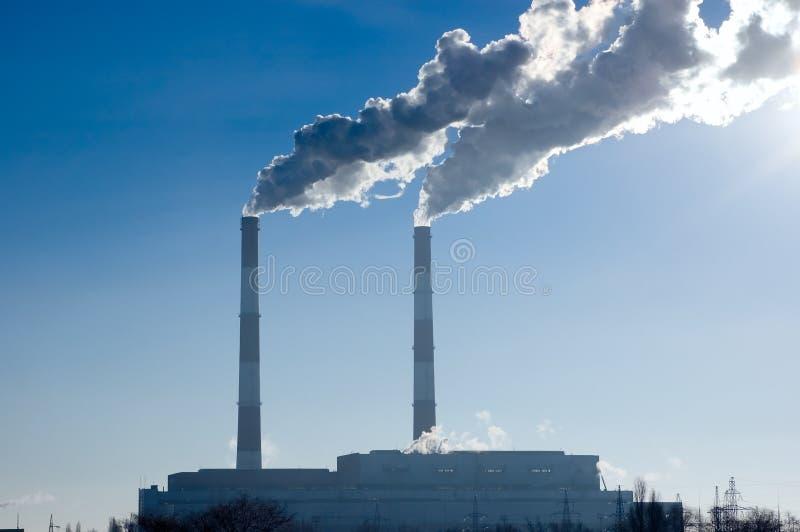 Central eléctrica fotos de stock