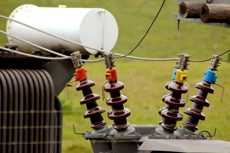 Central eléctrica imagen de archivo
