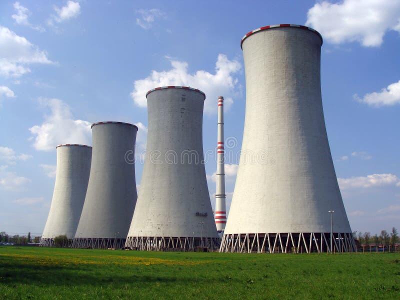 Central eléctrica fotografía de archivo
