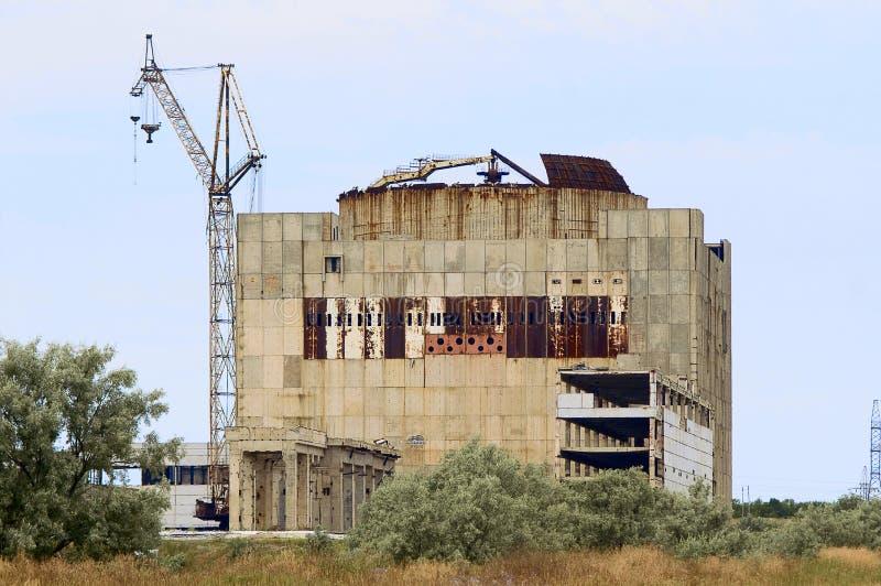 Central eléctrica atômica abandonada (Kazantip) fotos de stock