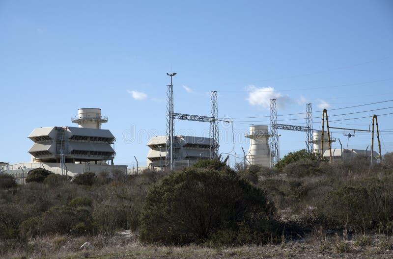 Central eléctrica de Ankerlig en la Atlántida Suráfrica fotos de archivo libres de regalías