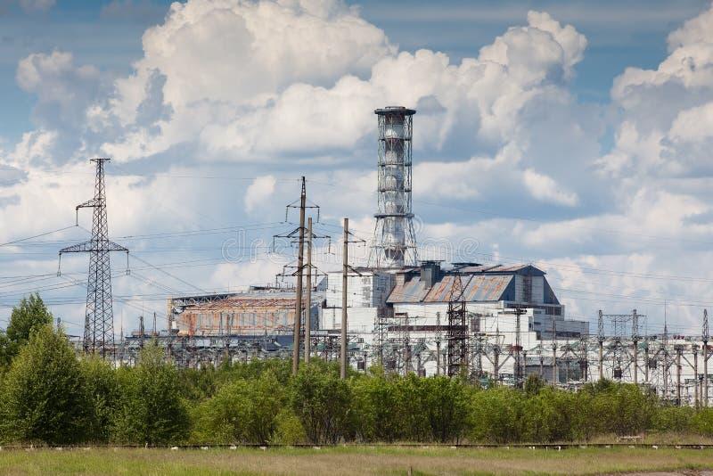 Central eléctrica de Chernobyl foto de archivo libre de regalías