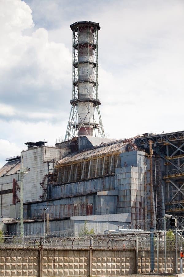 Central eléctrica de Chernobyl imagen de archivo libre de regalías