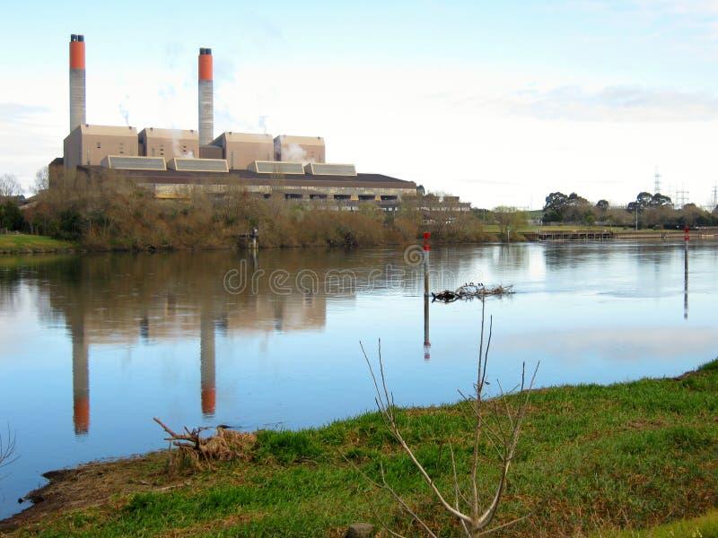 Central eléctrica de Huntly fotografía de archivo