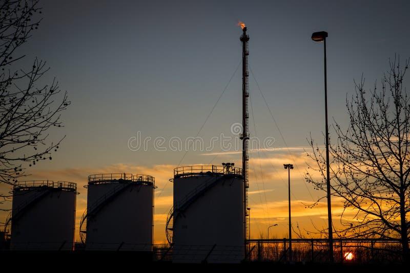 Central eléctrica de la energía fotos de archivo