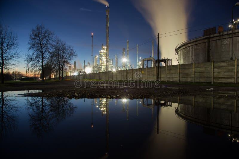 Central eléctrica de la energía fotografía de archivo libre de regalías