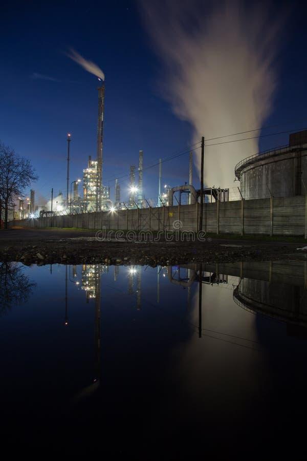 Central eléctrica de la energía foto de archivo libre de regalías