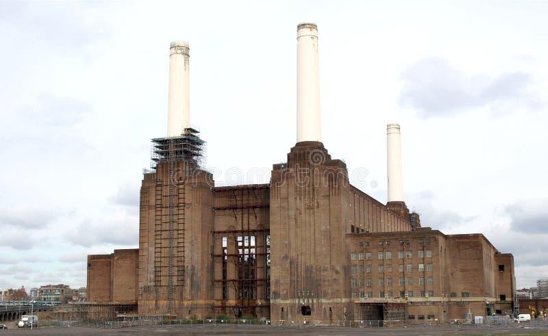Central eléctrica de Londres Battersea imagem de stock royalty free