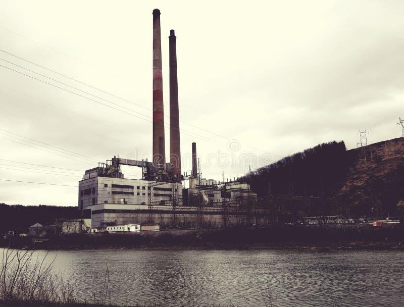 Central eléctrica del shawville fotografía de archivo libre de regalías