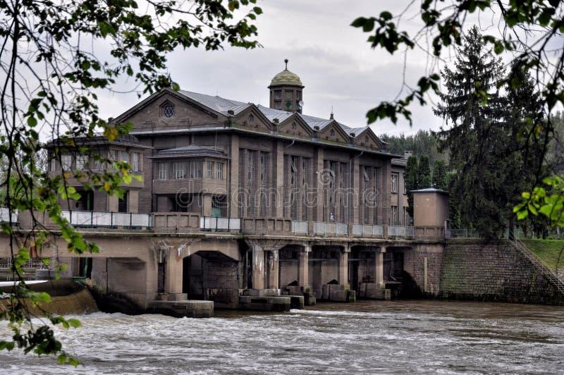 Download Central Eléctrica Histórica De Agua Podebrady Foto de archivo - Imagen de molino, construcción: 44851452